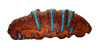 Beautiful and exquisite Banksia Pod Turquoise barrette!