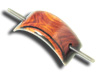 Beautiful and exquisite Cocobolo barrette! Sorry; SOLD OUT